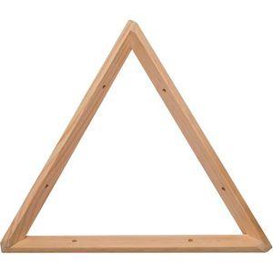 ETAGÈRE MURALE Equerre triangle en pin brut 30 cm -  Beige