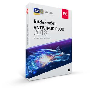 BUREAUTIQUE À TÉLÉCHARGER BITDEFENDER ANTIVIRUS PLUS 2018 - 1 an - 1 PC - Ve