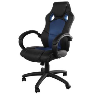 Chaise gamer achat vente chaise gamer pas cher cdiscount - Chaise de bureau pliable ...