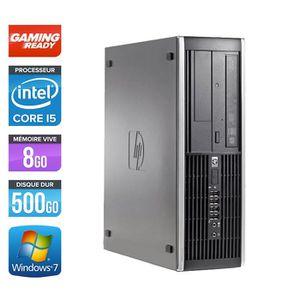UNITÉ CENTRALE  Pc de bureau HP 8200 -Core i5-2400 - 8Go -NVIDIA G