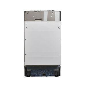 LAVE-VAISSELLE Inventum IVW4508A, Entièrement intégré, Acier inox
