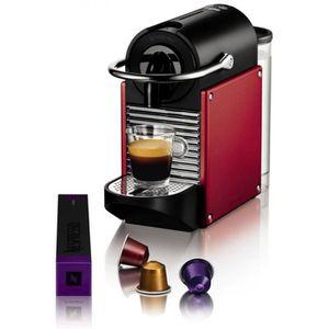 CAFETIÈRE Nespresso MAGIMIX - M110 Pixie Rouge métal - 11325