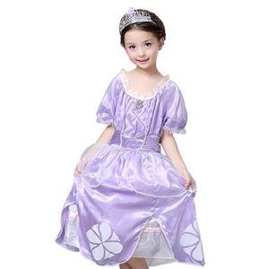 DÉGUISEMENT - PANOPLIE Déguisement Robe de Princess Sofia Cosplay Costume