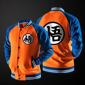VESTE Veste homme,Dragon Ball,Baseball shirt