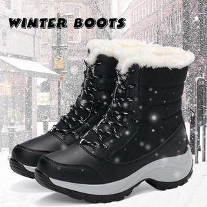 Hommes style britannique Chaussures de neige d'hiver Bottes chaudes d'origine Chaussures d'affaires en cuir Size37-47 Z6nsg
