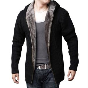 GILET - CARDIGAN Hiver Chaud Gilet Cardigan Homme Grand Taille Epai ... 7c8d66fe76ef