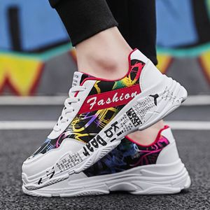 a1528f1a611 BASKET Mode homme sauvage Graffiti Chaussures Casual conf