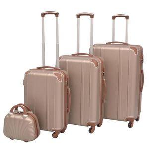 SET DE VALISES Ensemble de valises à roulettes quatre pièces Cham