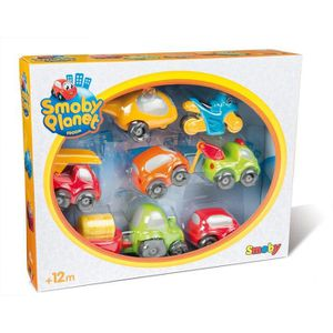 CIRCUIT SMOBY Vroom Planet Coffret Collector 7 Voitures