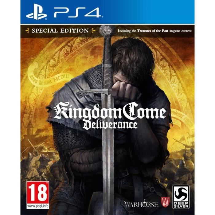 JEU PS4 Kingdom Come Deliverance Edition Spéciale Jeu PS4