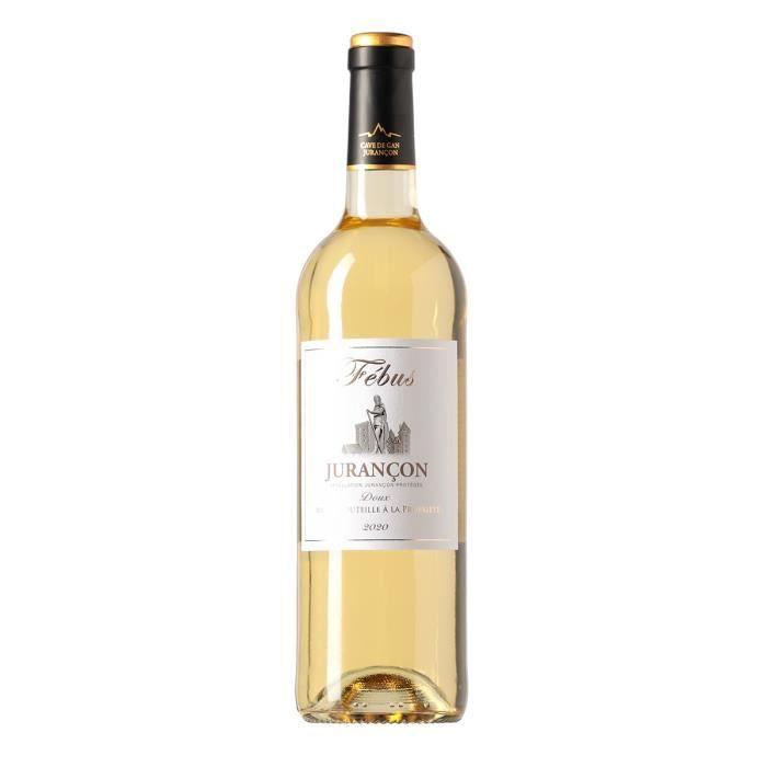 Jurançon Febus 2013 Vin doux du Sud Ouest - Blanc - 75 cl