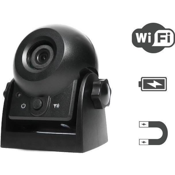SNOOPER Caméra de recul Wifi auto-alimentée