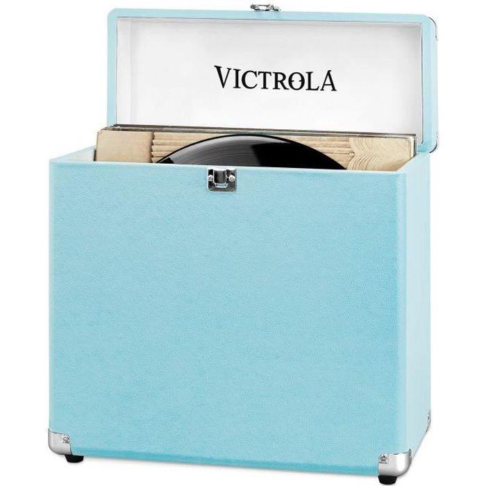 VICTROLA Caisse Rétro - Turquoise