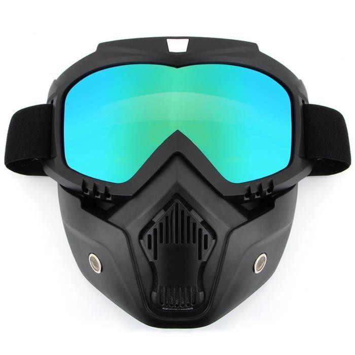 Masque lunettes de moto casque protection - Achat   Vente pas cher 219b26afdc4b