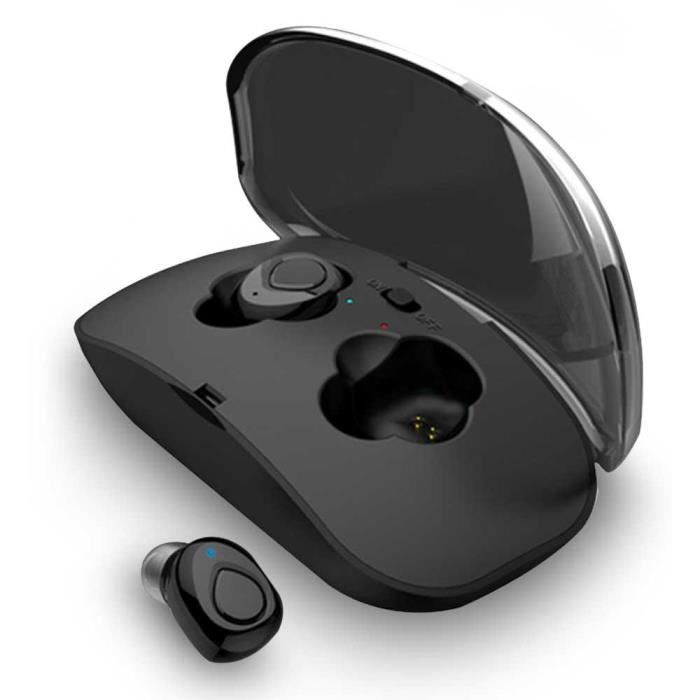 Efuture Bluetooth Écouteurs X18 Tws Mini Sans Fil Sport Étanche Touch Casque Stéréo Blanc