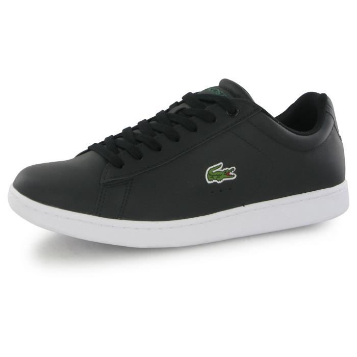 Homme Noir Achat Evo Mode Carnaby Lacoste Lcr NoirBaskets fY7y6bvg