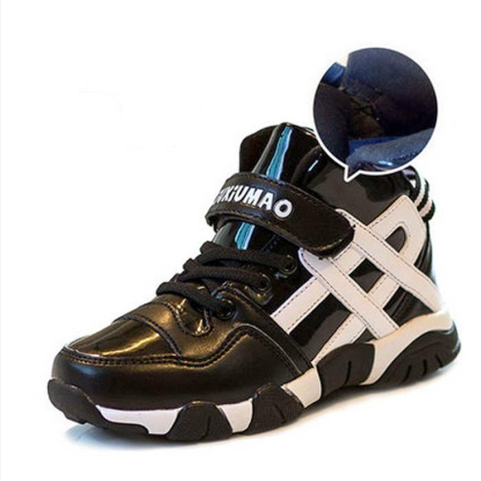 meilleur pas cher a4c81 6afe8 Chaussures de basket - ball boy les chaussures pour enfants, chaussures de  loisirs des filles de bandes Velcro de chaussures