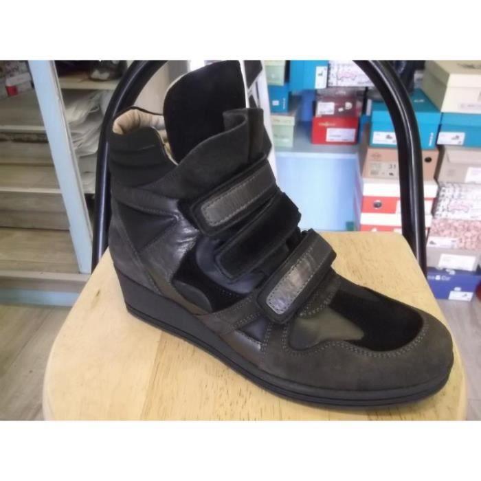 Boots à scratchs compensés Ninette Pointure 40