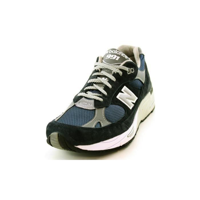 en nbsp;hommes nbsp;M Balance bleu Angleterre de chaussures 991 Fabriqué baskets New BLU 991NV UvwIq