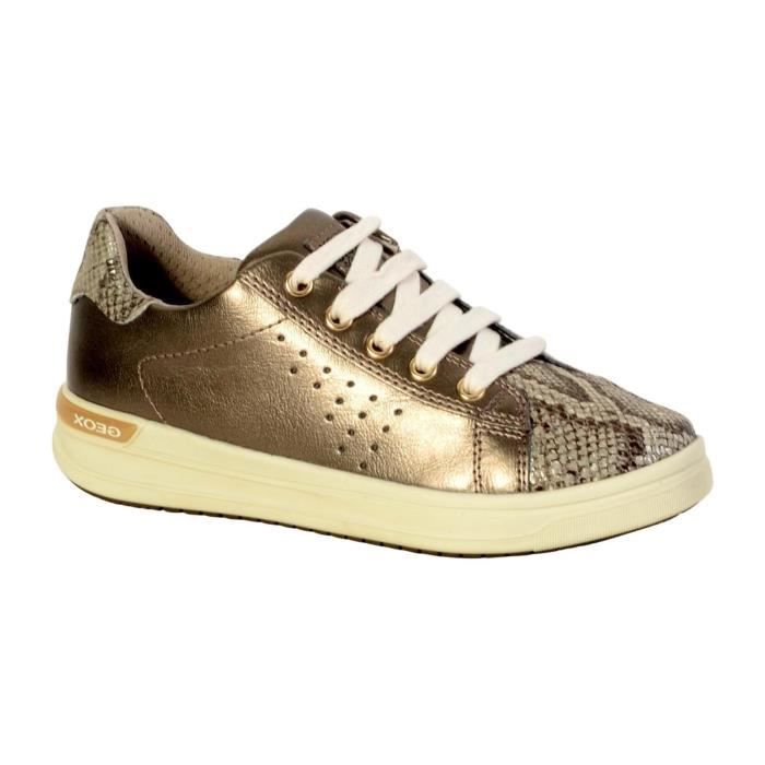 Basket Geox Enfant Aveup Girl J741ZA 0NFTN C2005 Gold