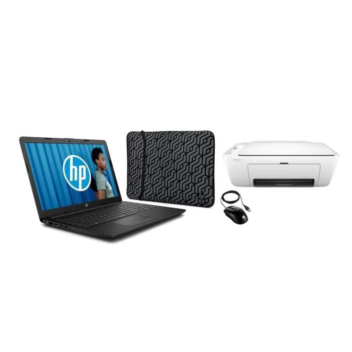 """HP PC Portable 15-db0035nf - 15,6""""HD - AMD A4 - RAM 4Go - Stockage 1To - Win10 + Sacoche + Sour"""