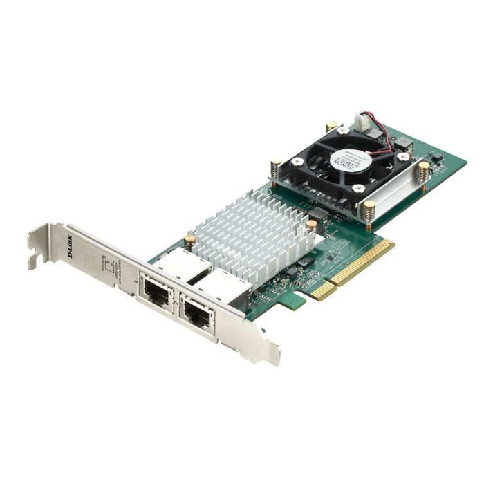 D-Link - Adaptateur PCIe 10 Gigabits Ethernet doub