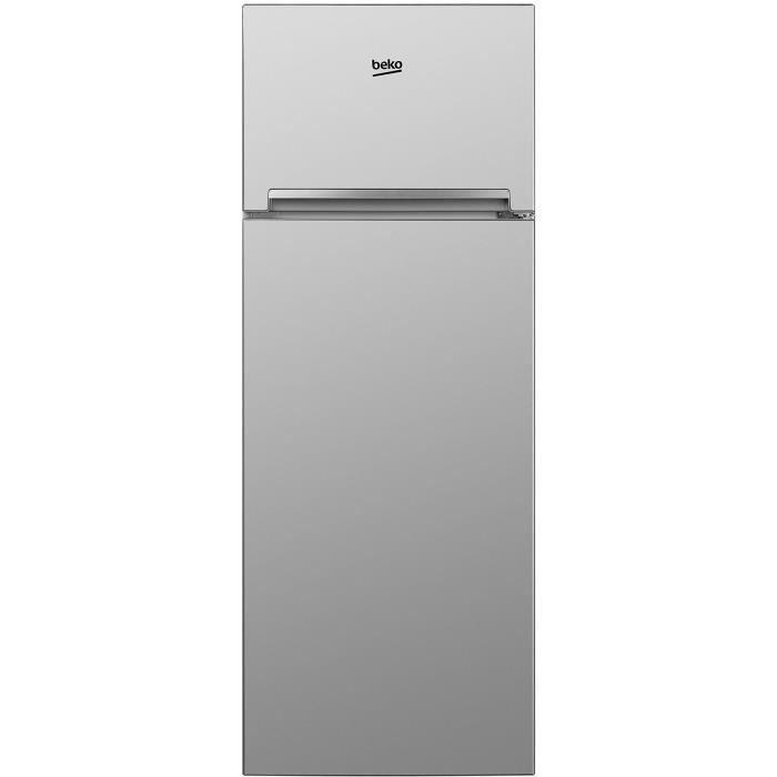 08a63c4c409927 BEKO RDSA280K20S - Réfrigérateur 2 portes congélateur haut - 250 L (204 +  46 L) - Froid statique - A+ - L 54 x H 160 cm - Silver