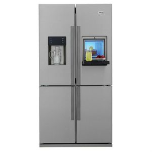 Frigo americain 600 litres achat vente frigo americain - Refrigerateur americain 3 portes inox ...