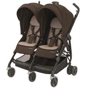 BEBE CONFORT Poussette Canne Double Dana for 2 - Earth Brown