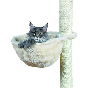TRIXIE Sac confort pour arbre ? chat ? 38 cm cr?me peluche