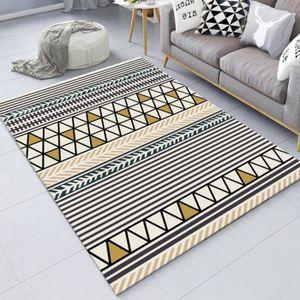 TAPIS Tapis salon tapis berbere 100*200cm grand tapis po