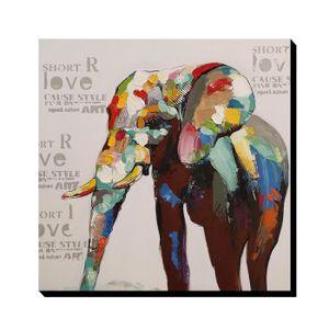 TABLEAU - TOILE AONBAT Tableaux de peinture à l'huile Peint à la M