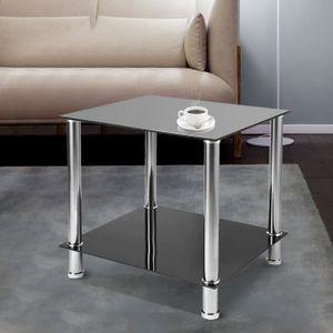 TABLE BASSE Table Basse chromés Moderne table de Salon Table d