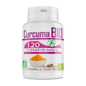 COMPLÉMENT ARTICULATION Curcuma Bio - 400 mg - 120 comprimés