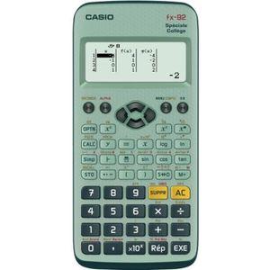 CALCULATRICE CASIO Calculatrice Fx 92 Collège Scientifique Grap