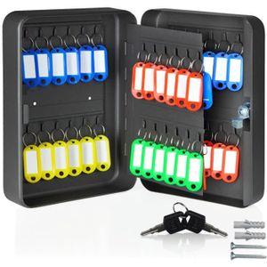 ARMOIRE - BOITE A CLÉ Armoire à clés en acier avec 48 crochets et 48 por
