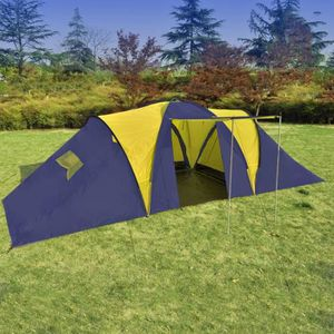 TENTE DE CAMPING Tente de Camping Tunnel Familiale 9 Personnes Tent