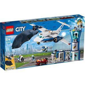 ASSEMBLAGE CONSTRUCTION LEGO® 60210 La base aérienne de la police