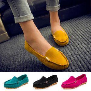 ESCARPIN Mode Femmes Plates Bateau Chaussures