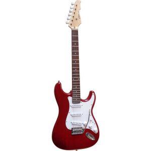 GUITARE Guitare Electrique Strato  ~ Avec Vibrato Et Câ…