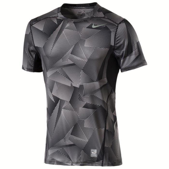NIKE T-shirt Np Hypercool Fttd Gfx - Homme - Noir