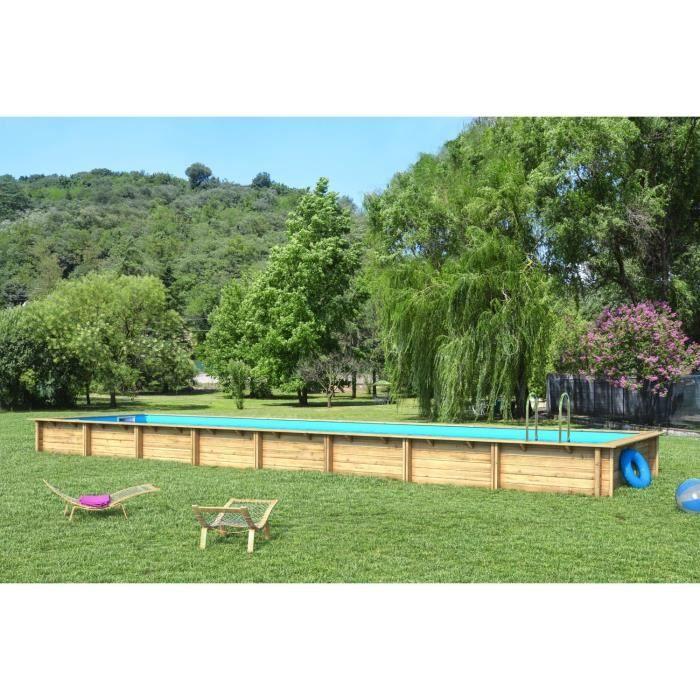 piscine bois 12×6