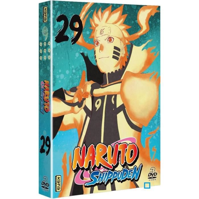 Naruto Shippuden Vol 29 Coff Dvd En Dvd Dessin Anime Pas Cher