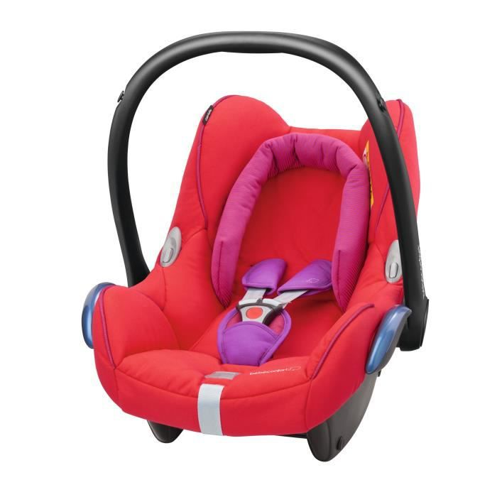 BEBE CONFORT Siège auto Cabriofix Groupe 0+ - Red Orchid