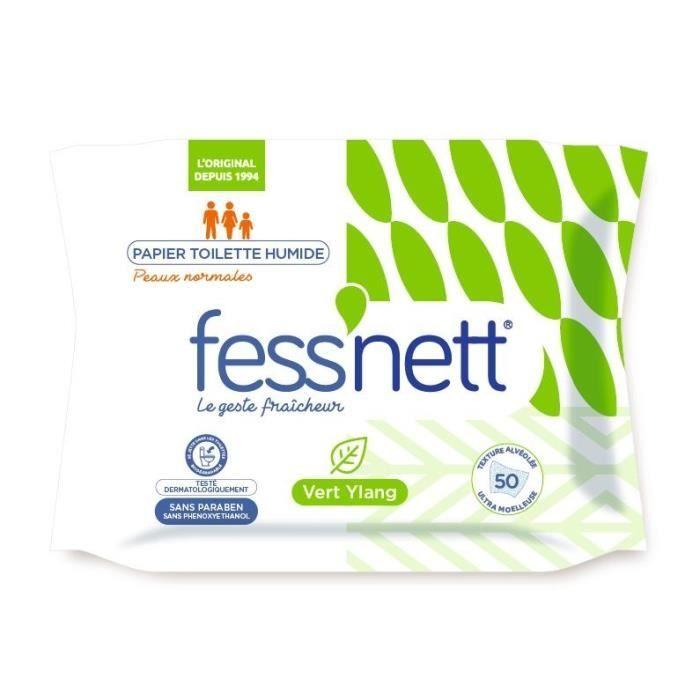 FESS'NETT Papier toilette humide - Vert ylang