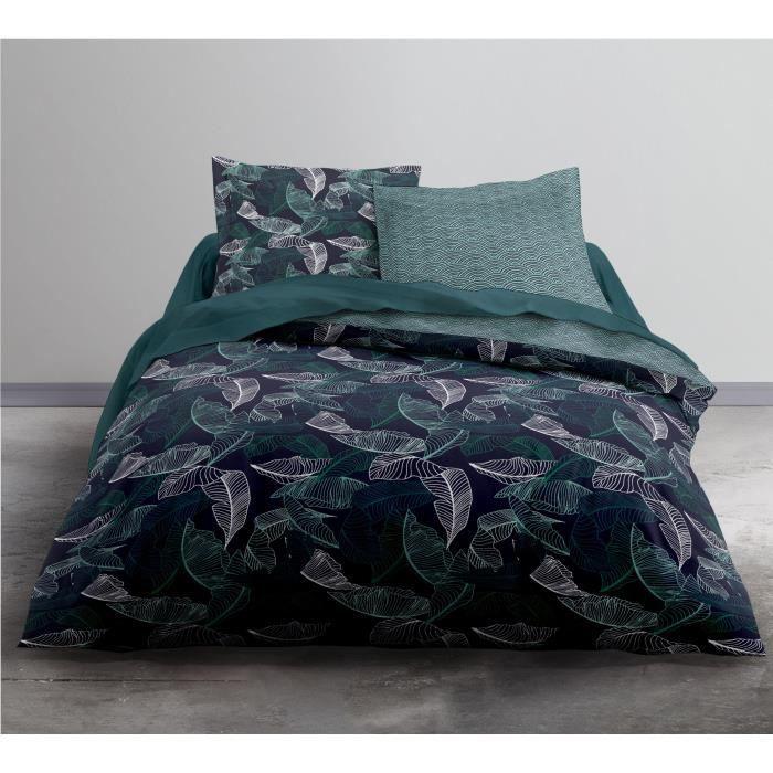 TODAY Parure de couette Enjoy Ivy - 1 housse de couette et 2 taies d'oreiller - 100% coton - 220 x 240 cm