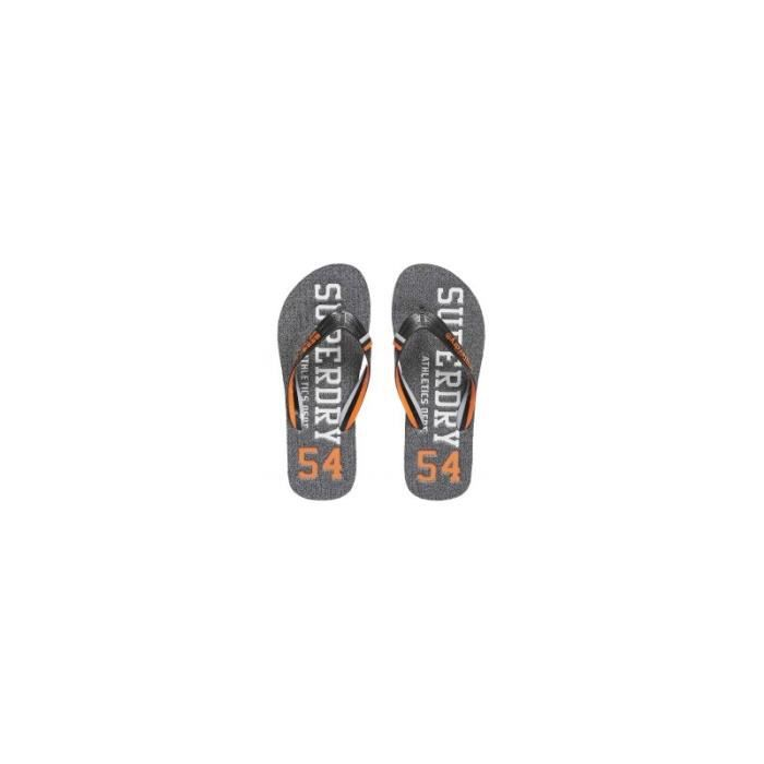 Tongs Superdry Track & Field Flip FlopGrit 0rm17opN5t