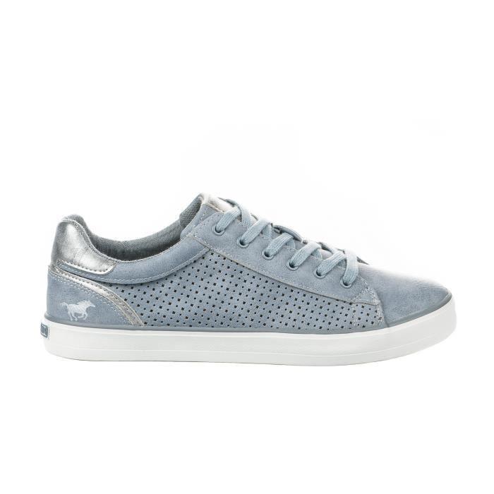 Baskets mode femme - MUSTANG - Bleu - 1267306 - Millim