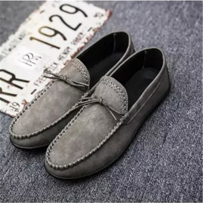 Mocassin Antidérapant Respirant Chaussures Plus Homme Tendance Nouvelle Taille Beau e9H2WEDIYb