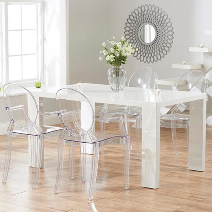 lot de 4 fauteuil chaise transparent de salle a ma Résultat Supérieur 15 Incroyable Fauteuil Salle A Manger Und Chaise Plastique Transparent Pour Deco Chambre Pic 2018 Hgd6
